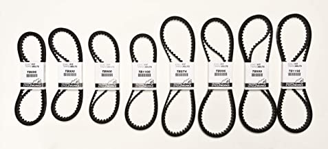 ExactFit Timing Belts Set for Ducati: 996R/998, 749/999, Monster S4R/S4RS