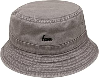 dfe6fa55b56 City Hunter Bd2020 Unisex Fam Washed Cotton Bucket Hats - 11 Colors