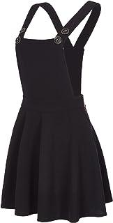 Laeticia Dreams Women's Bib Skirt Denim Look XS S M L XL