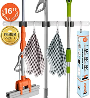 Mop and Broom Holder Wall Mount | 16