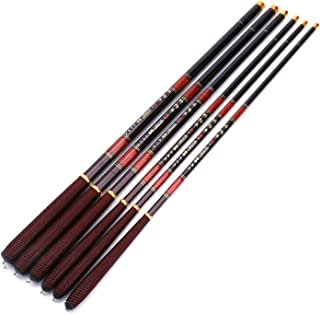 Fishing Rod 2.7-7.2m Pole High Carbon Fiber Ultra Light Telescopic Carp Current