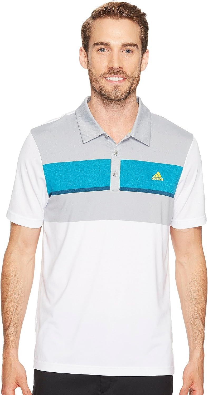 adidas Golf Men's Climacool Engineered Block Polo
