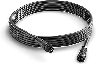 Philips Hue Low Voltage Extension Cable, 5Meters, Plastic, 1W, Black, 500x 1.3x 1.3cm