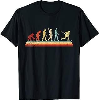 Hockey Evolution Retro Vintage Hockey Player Gifts T-Shirt