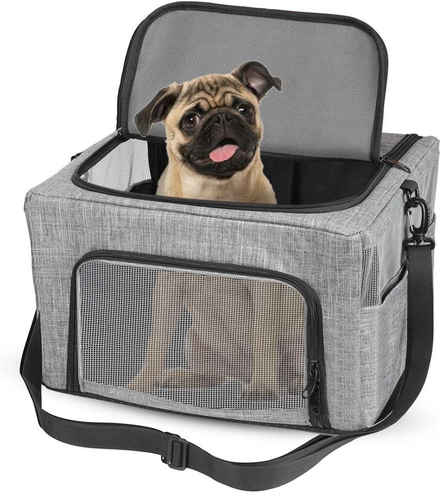 Haokaini Pet Carrier San Jose Mall Bag Free shipping Portable Cat Dog with Seat Bel Car