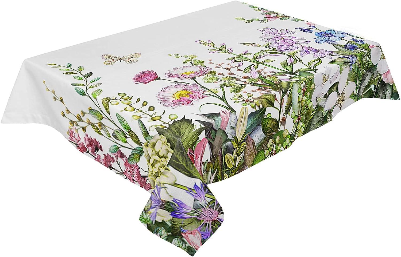 Table Cheap SALE Start Cloth Cotton Linen Wrinkle Drawn Sum San Antonio Mall Hand Free Watercolor