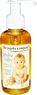 The Jojoba Company Jojoba Baby Certified 100% Organic - Gentle Enough For Newborn Babies