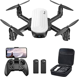 Potensic Elfin FPV Drone with 2K Camera for Kids, Optical Flow Positioning, Live Video RC Quadcopter with Gesture Control,...