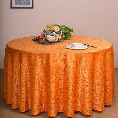 Küchenwäsche Runde Tischdecke - lila Rosa Grün Blau Hotel Restaurant Tischdecken, Drop-Proof und leicht zu reinigen (Farbe   B, Größe   Round- 280cm)