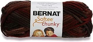 Bernat Softee Chunky Ombre Yarn, 2.5 oz, Gauge 5 Bulky Chunky, 100% Acrylic, Terra Cotta Mist