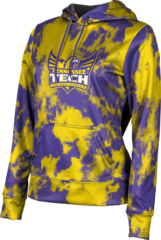 ProSphere Tennessee Technological University Girls' Pullover Hoodie, School Spirit Sweatshirt (Grunge)