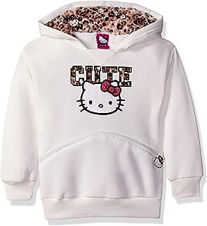 Hello Kitty 女童小字符连帽衫