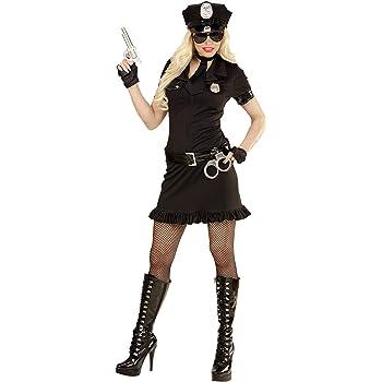 Nero WIDMANN WDM49463 L Costume Per Adulti Poliziotta