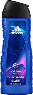 adidas Uefa Champions League Victory Edition Shower Gel For Men, 400 ml