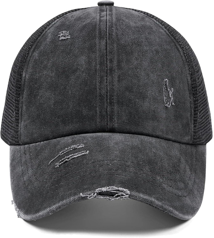 Ponytail Hats for Women Trucker Hats Womens Baseball Cap Criss Cross Ponytail Hat Gorras De Mujer Baseball Hat for Women