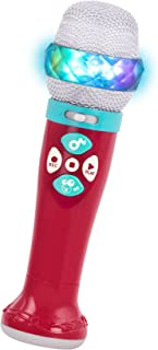 Battat – Musical Light Show Microphone – Light-Up Sing-Along Mic with 5 Songs and Record Functions for Kids 2 years + (Blu...