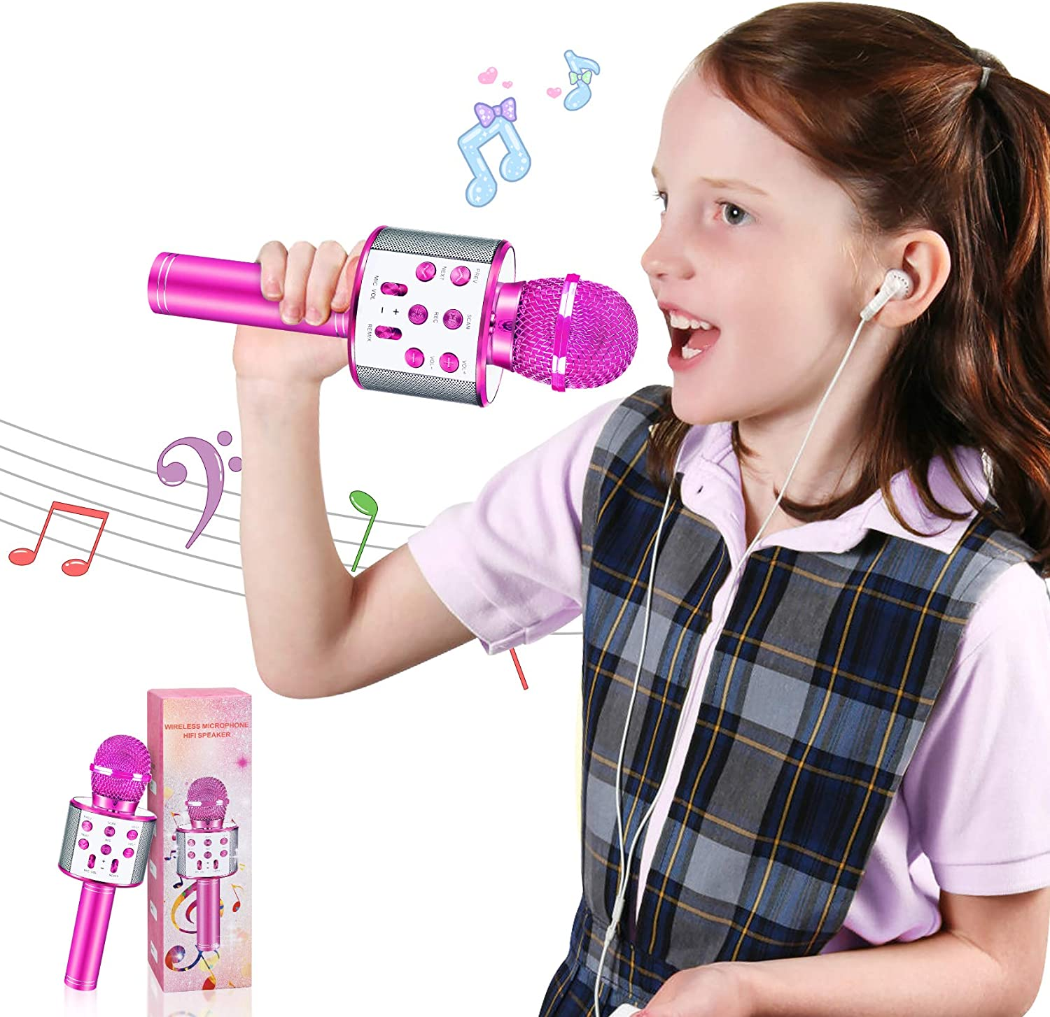 HahaGift New arrival Toys for 3-16 Years Clearance SALE! Limited time! Gifts Girls Old Wireless Microphon