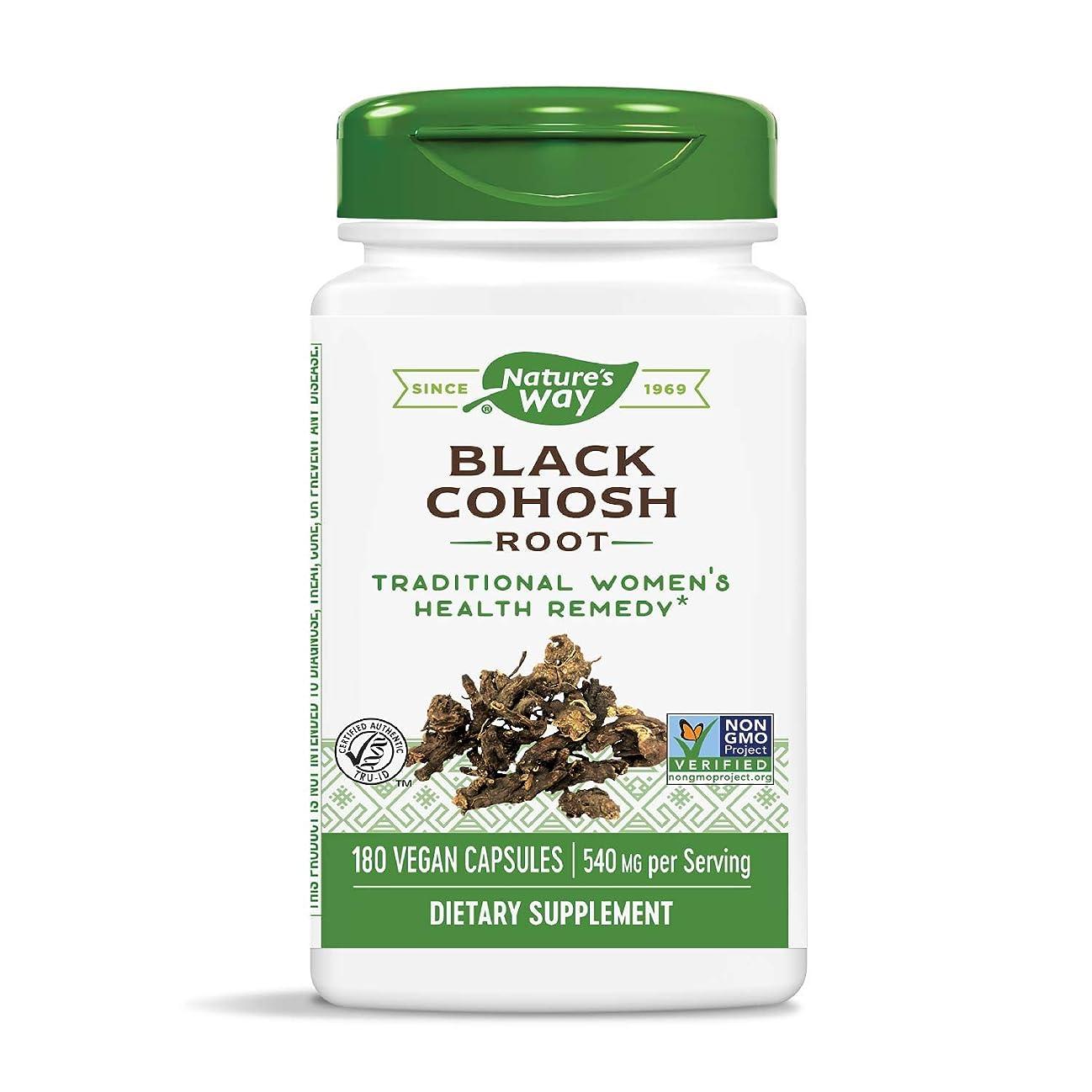 炎上役職感情海外直送品 Nature's Way Black Cohosh Root, 180 Caps