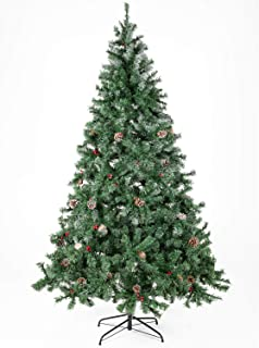 Best christmas tree with pine cones and red berries Reviews