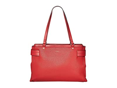 Fiorelli Brie Satchel (Ruby) Satchel Handbags
