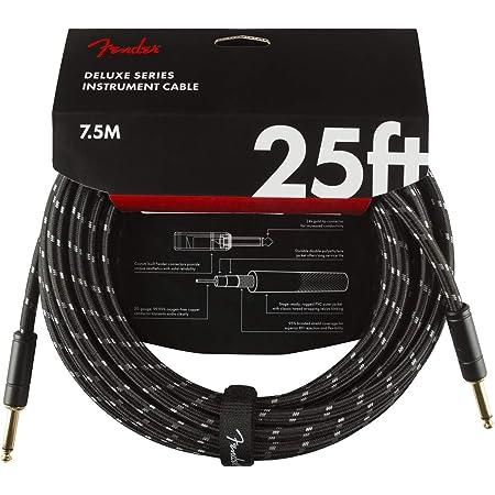 Fender Deluxe Series - Cable de antena (7,5 m), color negro