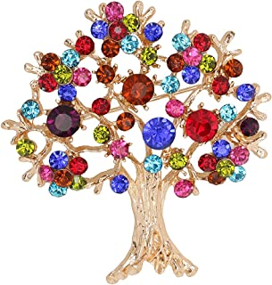Generic Tree of Life Brooch Colorful Brooch Pin Pin Jewelry Brooch