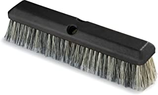 Pack of 12 3-1//4 Bristle Trim Carlisle 362208P1803 Flo-Pac Plastic Block Sweep Polypropylene Bristles 18 Length x 2-1//2 Width Black