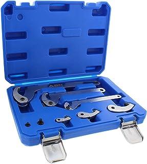 ABN Adjustable Hook & Pin Wrench Spanner Tool Kit 8pc Set – Bicycle, Bike, Motorcycle Suspension Collar, Nut Adjustment