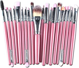 Professional 20 Pcs makeup brushes sets Eyeshadow makeup Cosmetics eyebrow foundation cleaning hair brush,006