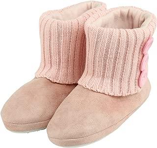Women's Soft Fleece Winter Warm Indoor House Fashion Boots Slippers