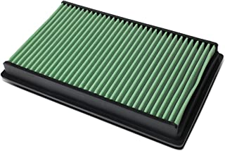 For Infiniti G35/Nissan Altima V6 Washable Drop-in Panel Air Filter (Green)