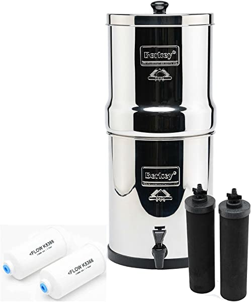 IMP6X2 BB Imperial Berkey With 2 Black Filters And 2 Flouride Filters