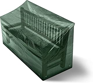 Garden Furniture Cover – Patio Bench Waterproof Cover for Outdoor Storage of Rattan Set – Heavy Duty Laminated Polyethylen...