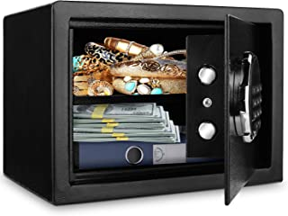 BATHWA Digital Electronic Safe Security Box, Steel Deposit Safe for Home & Office, Cabinet Safe with Keypad for Jewellery ...