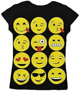 Garçon Fille Tout ce que Emoji Smiley Emoticons T-Shirt Leggings Capuche Sweats