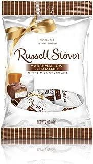 Russell Stover Milk Chocolate Marshmallow & Caramel Peg Bag, 2.95 Ounce