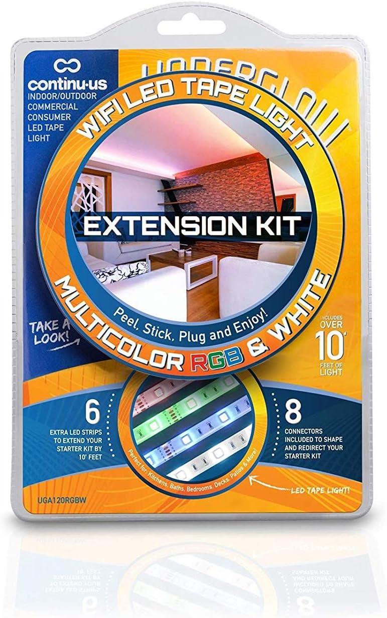LED Light Strips RGB WiFi Extension Underglow Kit L San Diego Mall UGA120RGBW Max 70% OFF -