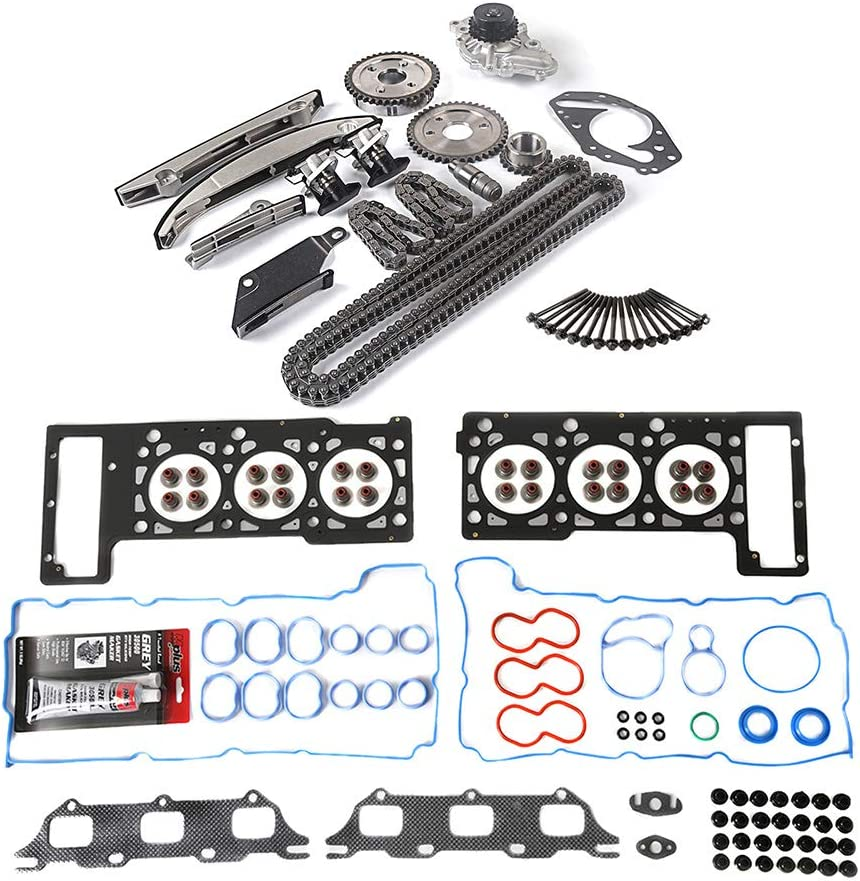 Latest item MOCA Department store Head Gasket Set Cylinder Chain Timing Kit Bolts