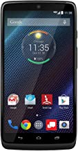 Motorola Droid Turbo 32GB Verizon 4G LTE Android Phone w/ 21MP Camera - Black (Renewed)