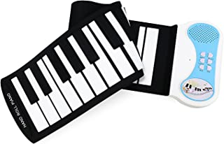 Eoncore 37 Keys Roll Up Portable Electronic Keyboard Piano F