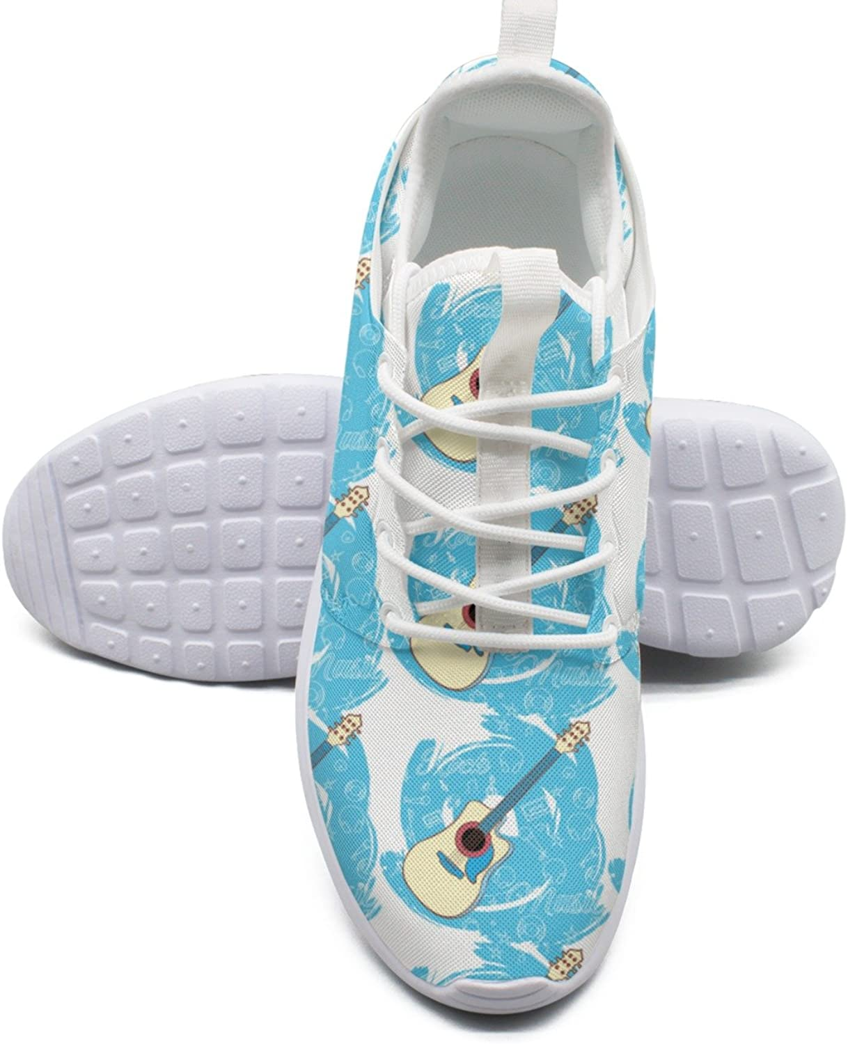 ERSER Art Guitar bluee Youth Running shoes Girls