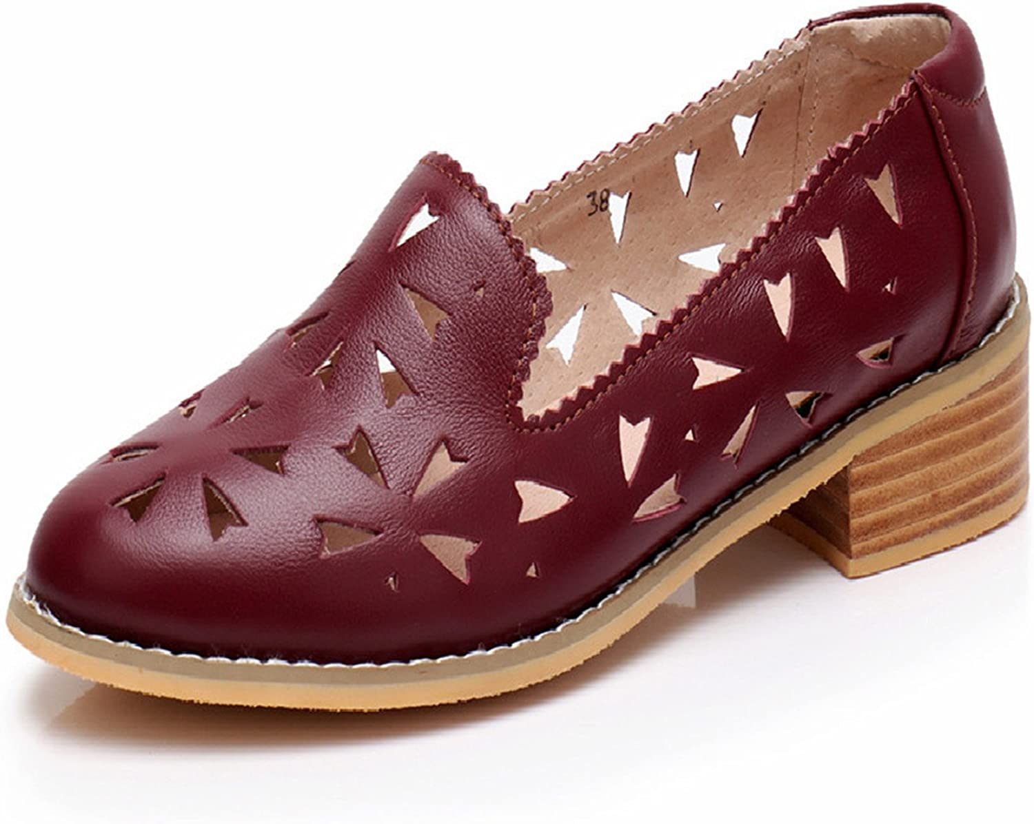 Spyman Genuine Leather Designer Vintage shoes Sandals Handmade bluee Red Yellow Oxford shoes for Women New Spring Big US Size 11