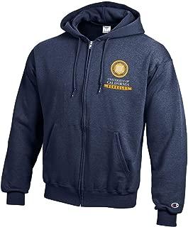 University of California UC Berkeley Cal Bears Champion Full Zip Hooded Sweatshirt Hoodie