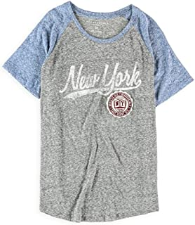 AEROPOSTALE Womens New York Patch Embellished T-Shirt