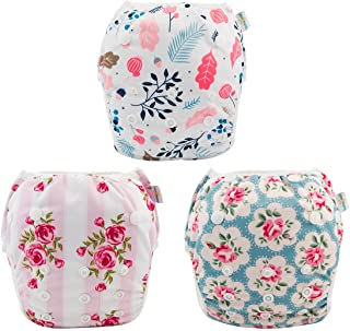 babygoal Reusable Swim Diaper for Girls, One Size...