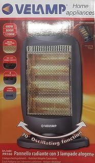 panel radiante 3lámparas halógenas