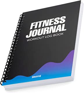 Detailed Fitness Journal with Built in Planner and Workout Log Book - Easily Tracks All Your Training On Our Easy Write Premium Paper