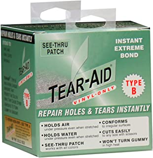 Tear-Aid Repair Patches Roll Kit for Type B Fabrics