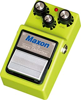 maxon sonic distortion