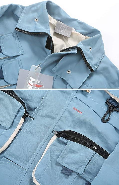 Irypulse Unisex Chaqueta Rompevientos Abrigo Streetwear ...